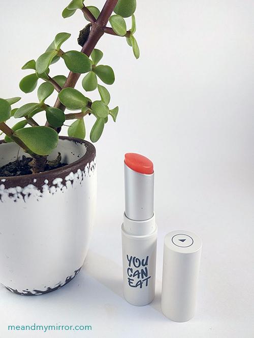 Nakeup Face You Can Eat Lip Balm#Coral