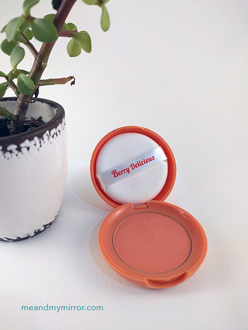 Berry Delicious Cream Blusher #OR201