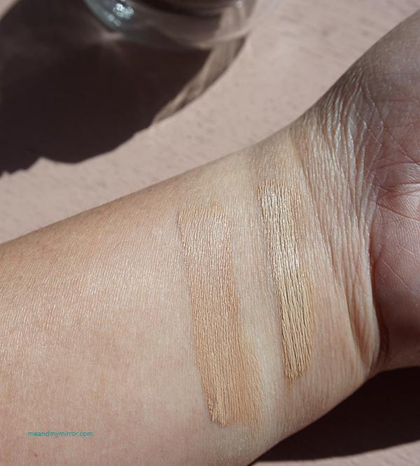 The Saem - Cover Perfection Tip Concealer - I have two shades. Left is the Contour shade (matches my complexion) and on the right is #02 Rich Beige.