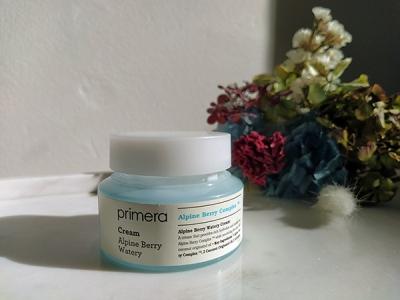Primera alpine berry moisturiser review